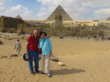 Alfred Goodman, a retired periodontist, and his wife Joyce have traveled together for 52 years. Their recent cruise through the Middle East and India was one of their most eye-opening.