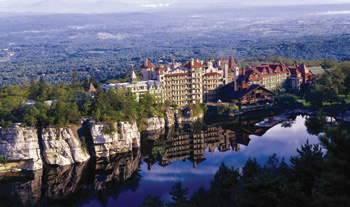 Mohonk Mountain House is an award-winning Victorian castle resort located 90 miles north of New York City in New Paultz, NY. Photo: Jim Smith Photography