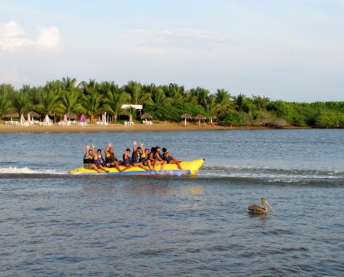 Barra banana boat