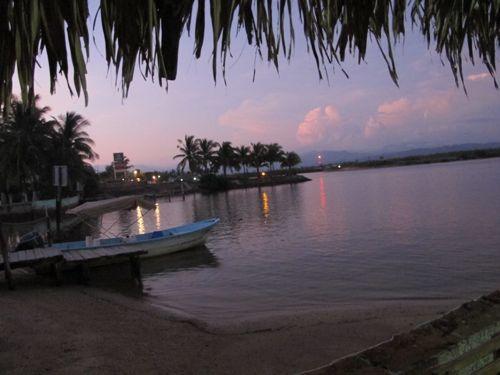 Sunset Isla Navidad