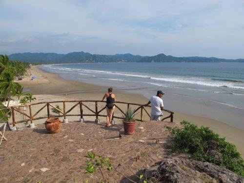 Boca de Iguanas view