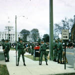 National Guardsmen in front of the Capitol during the Selma to Montgomery March (Courtesy Alabama Department of Archives and History)