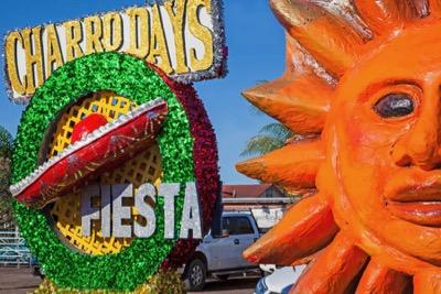 Charro Days parade floats
